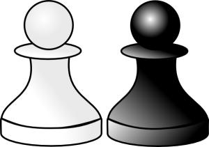 pawn-clipart-free-vector-black-and-white-pawns-clip-art_107460_black_and_white_pawns_clip_art_hight