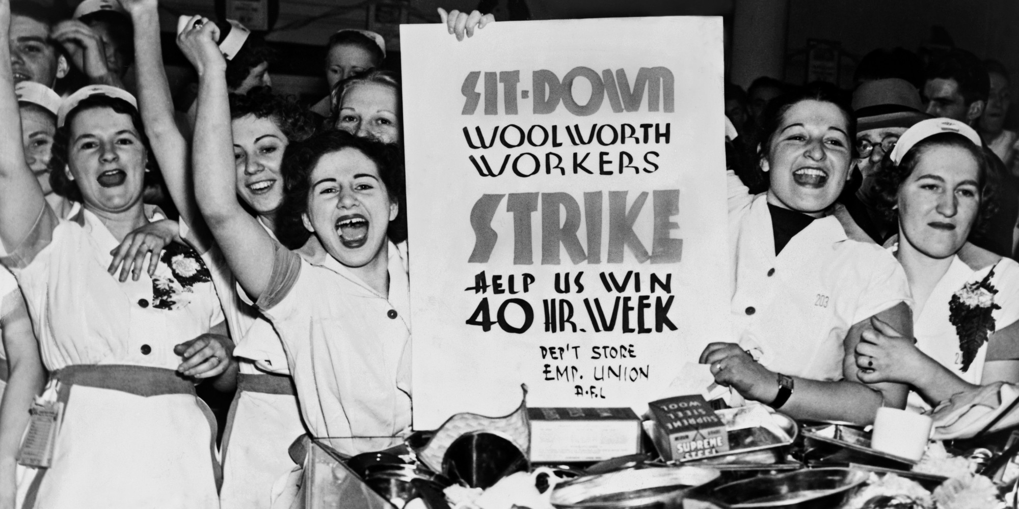 Woolworth Workers Strike